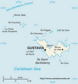 Map Saint-Barthélemy