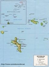 Mapa Seszele