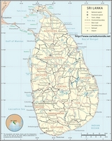 Map Sri Lanka
