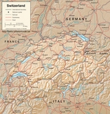 Map Switzerland