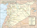 Map Syria