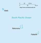 Map Tokelau