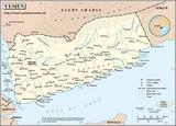 Mapa Yemen