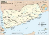 Carte Yémen